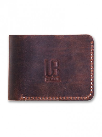 URBAN BAG Hand Made Leather Wallet - Concept 2